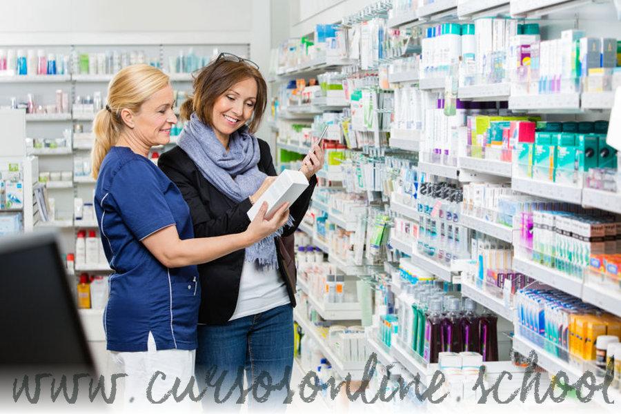 Curso de auxiliar de farmacia online